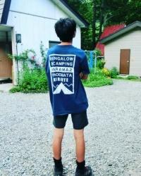 からまつTシャツ