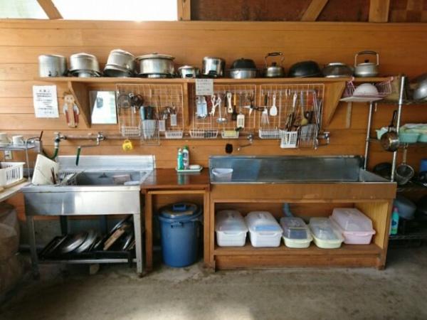 画像3: バンガロー専用炊事場